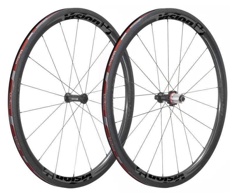 Vision Vision Metron 40 SL hjulsæt - Fuld carbon clincher
