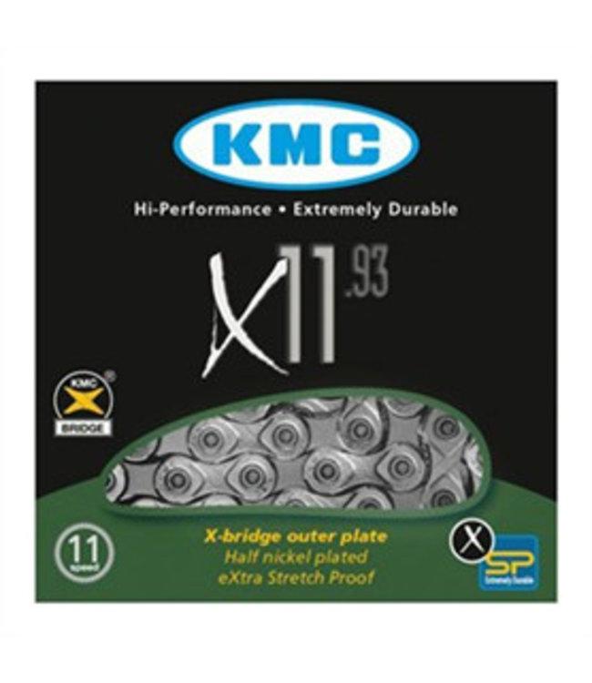 KMC X11-93 Silver Kæde