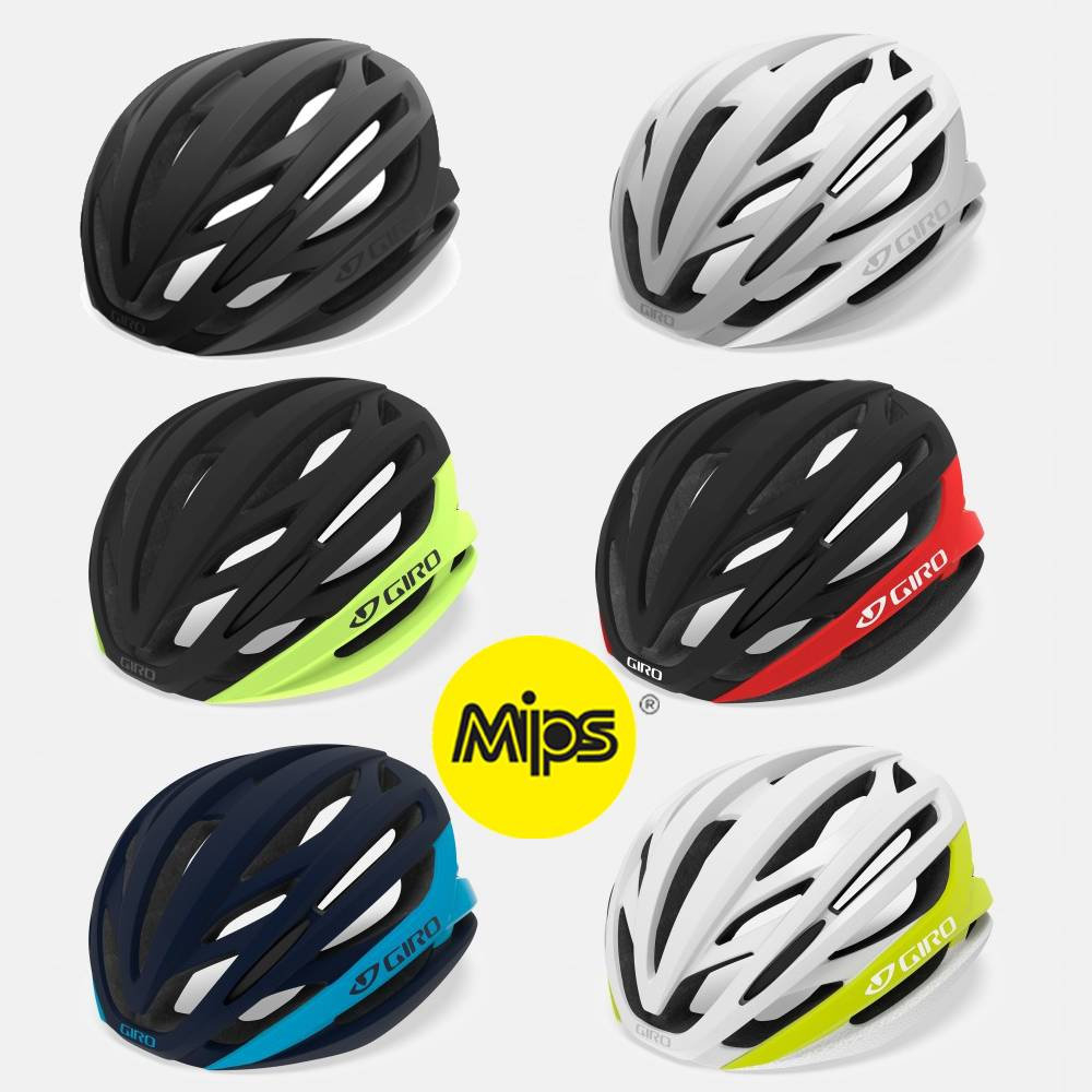 Fabriksnye Bestil Giro Syntax MIPS Cykelhjelm 2019 model med RABAT her RE-87