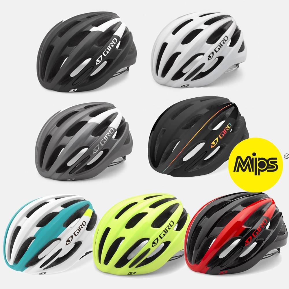 Rørig Bestil Giro Foray MIPS Cykelhjelm 2019 Model med RABAT her AC-46