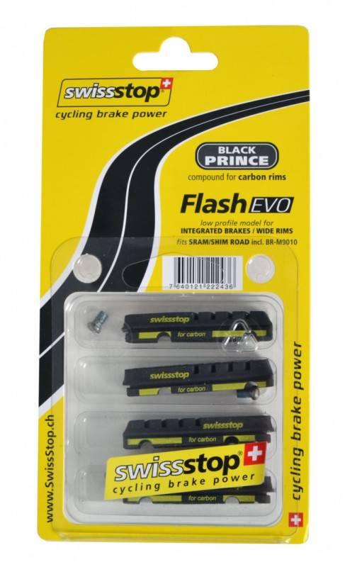 Swissstop Bremseklodser Black Prince Flash Pro - Evo Version