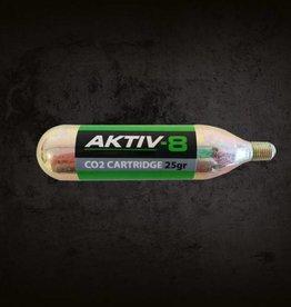 10x Aktiv-8 Co2 patroner 25 gram med gevind