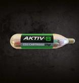 35x Aktiv-8 Co2 patroner 25 gram med gevind