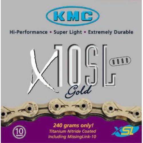 KMC KMC X10 SL Gold Kæde