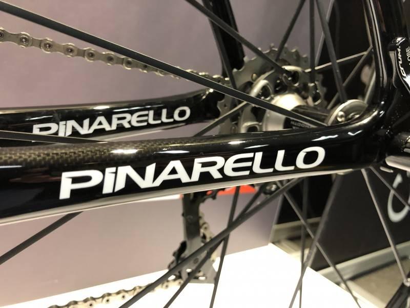Pinarello Pinarello Dogma F10 - str. 50 & 51,5 Dura Ace, Fulcrum Racing Zero Ceramic, Højglans Sort