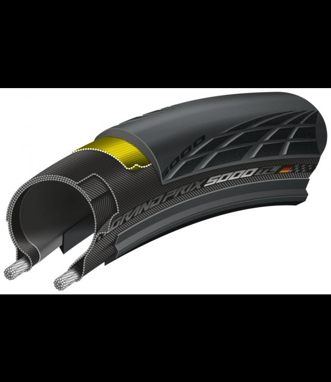 Continental Grand Prix 5000 TL Tubeless Racer Dæk