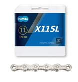 KMC KMC X11 SL SILVER 118L Kæde
