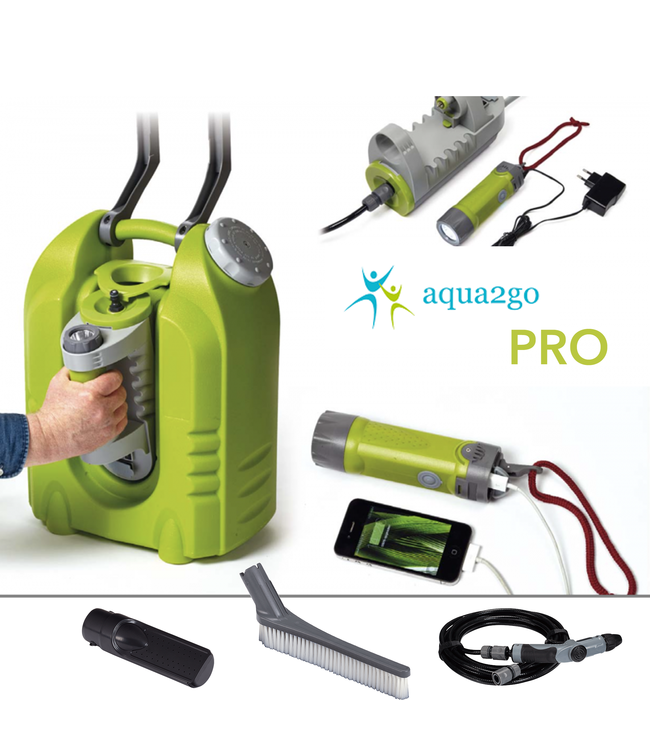 Aqua2Go Aqua2Go Pro GD86 Mobile højtryksrenser