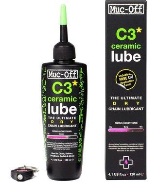 Muc-Off Muc-Off C3 Dry Ceramic Lube 120ml