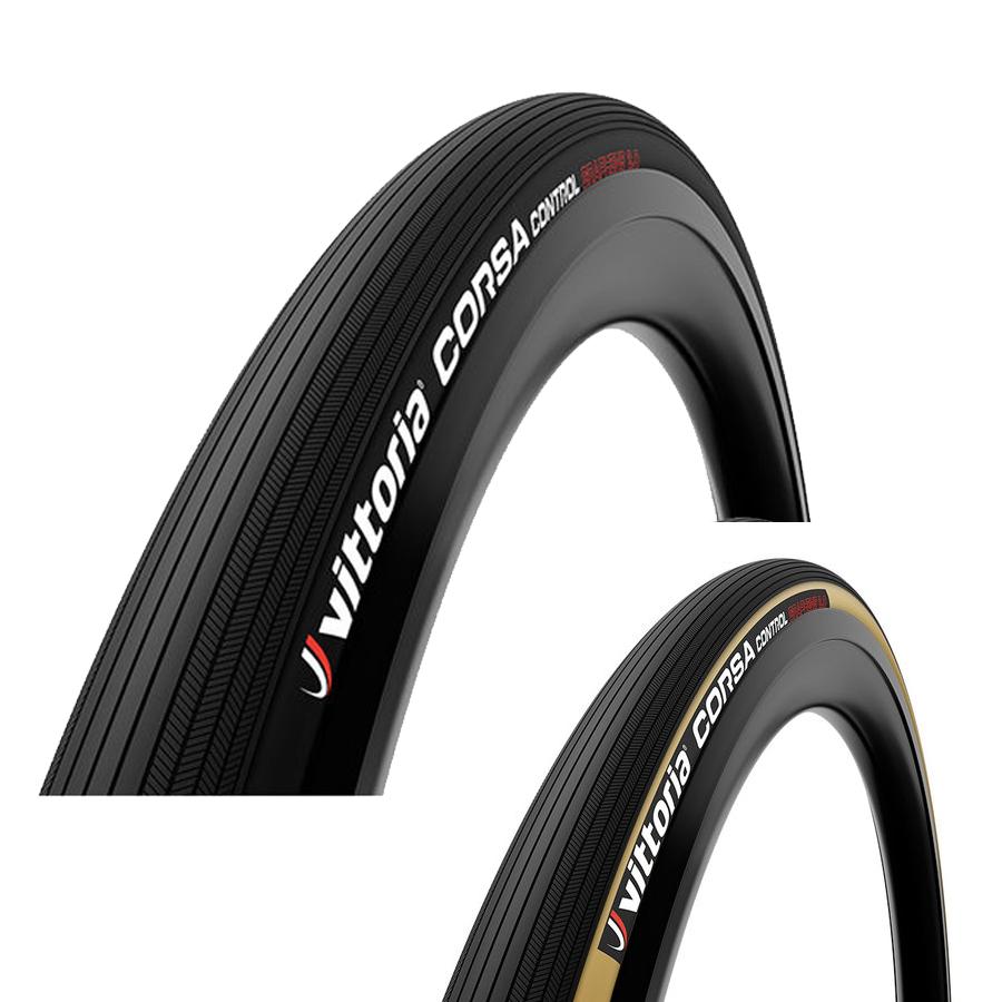 Vittoria Vittoria Corsa Control Graphene 2.0 Racer Foldedæk Brun/Sort