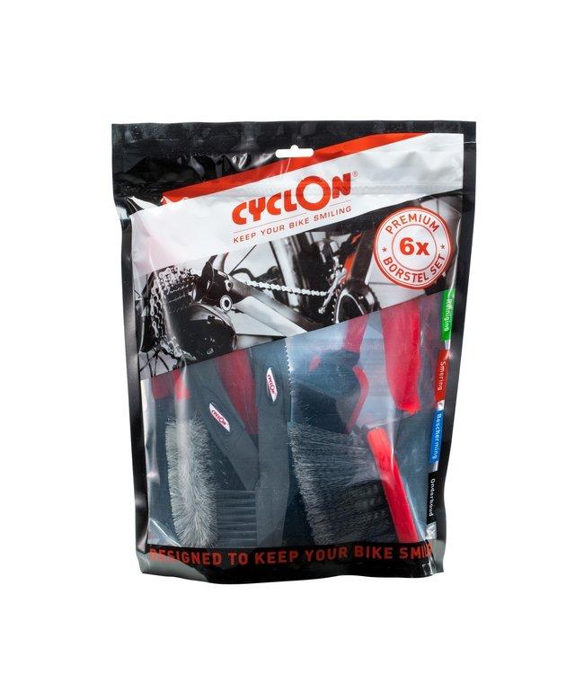 Cyclon børste sæt - 6 pakke