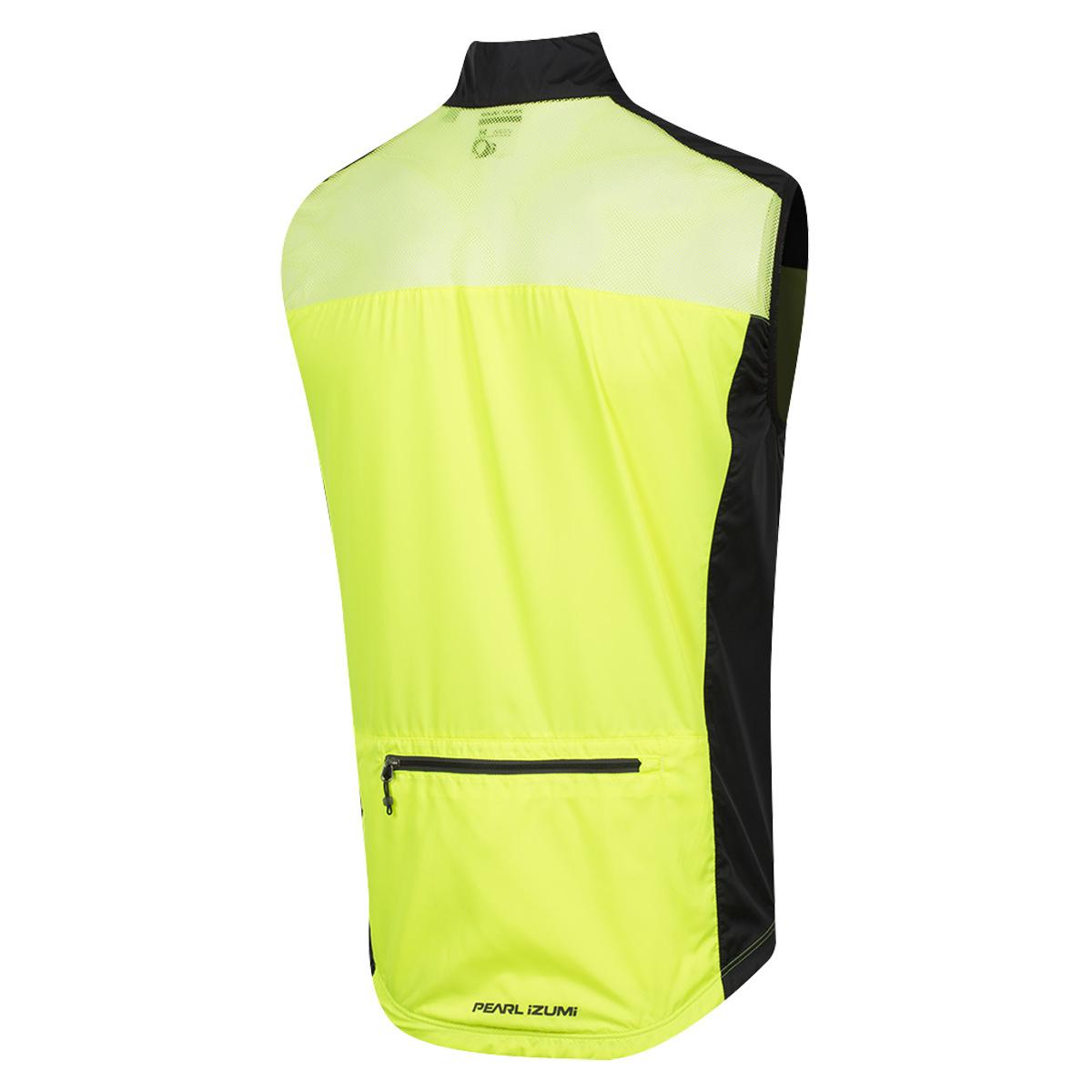 PEARL iZUMi Pearl Izumi Elite Escape Wind Vest Highlight Yellow