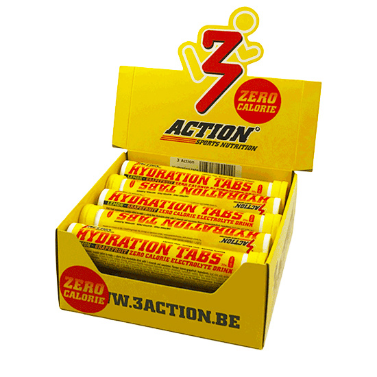 3Action 10x 3Action Hydration Tabs Rør