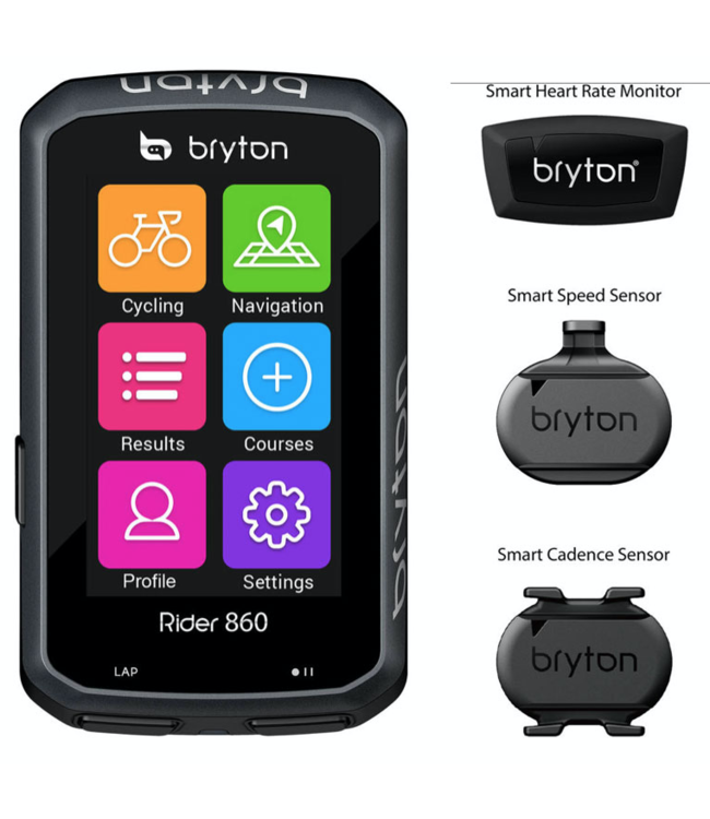 Bryton Bryton Rider 860 Bundle T Cykel Navigation