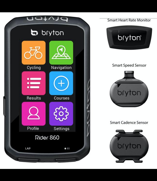 Bryton Rider 860 Bundle T Cykel Navigation