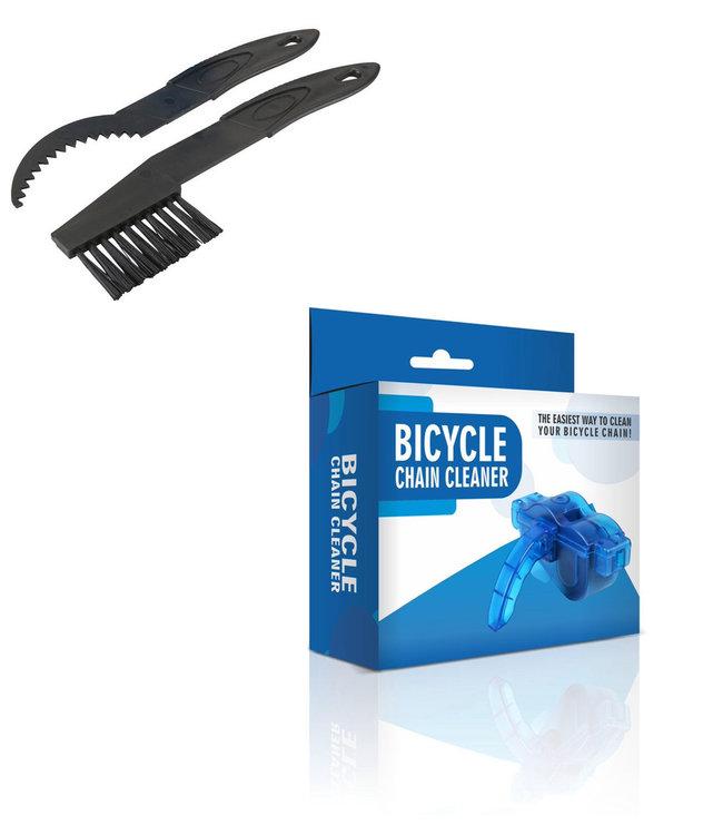 Kæderenser inkl. børster Road Bike og MTB