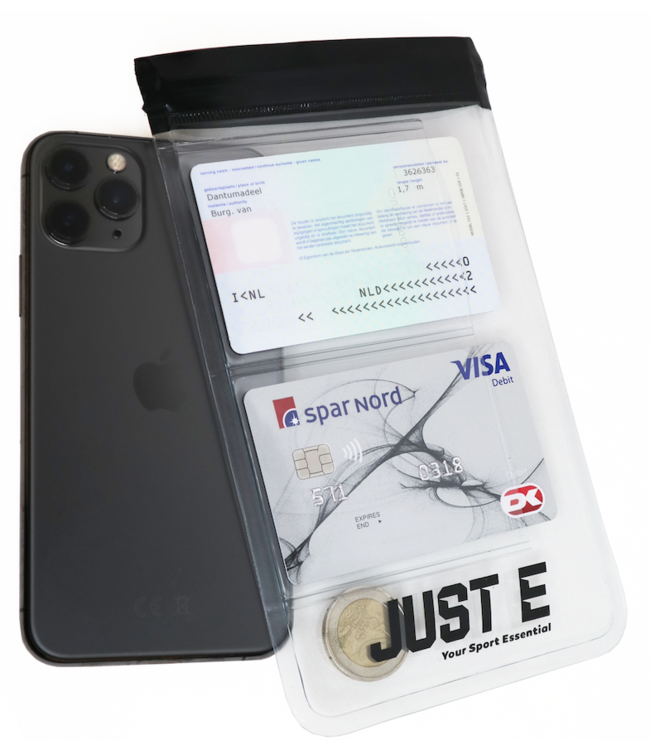 Just-E Smartphone Sport Cover | Vandtæt telefonetui | Cykling | Løb