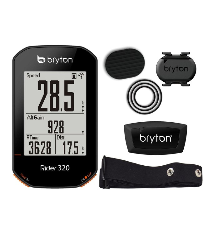 Bryton Rider 320 T / Total cykelcomputer