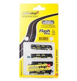 Swissstop bremseklodser Black Prince Flash Pro/ Race Pro - 4 styk (carbon bremseflade)