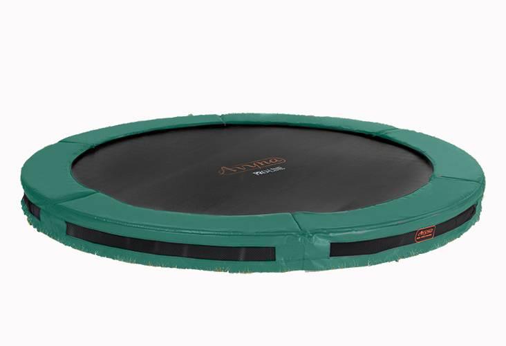 Avyna Avyna Pro-Line InGround trampoline 365cm Groen