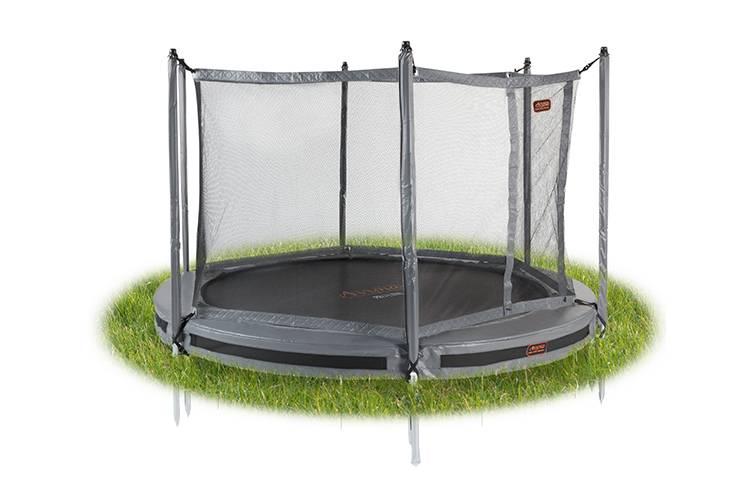 Avyna Avyna Pro-Line InGround trampoline 430cm Grijs COMBI