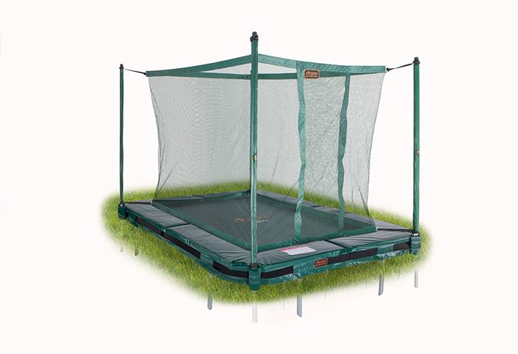 Avyna Avyna Pro-Line InGround trampoline 215x155cm Groen COMBI