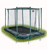 Avyna Avyna Pro-Line InGround trampoline 380x255cm Groen COMBI
