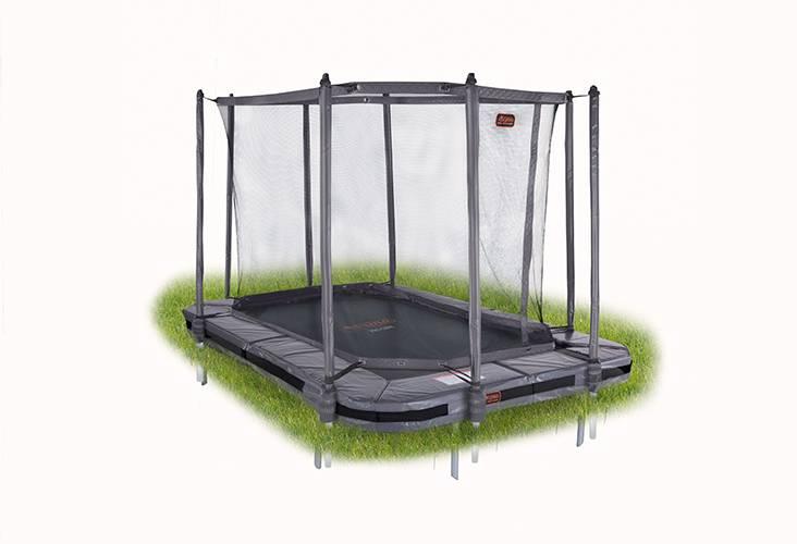 Avyna Avyna Pro-Line InGround trampoline 380x255cm Grijs COMBI