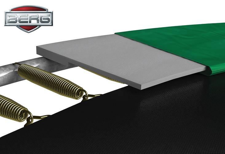 BERG Toys  BERG InGround  Favorit 330 groen + Safetynet