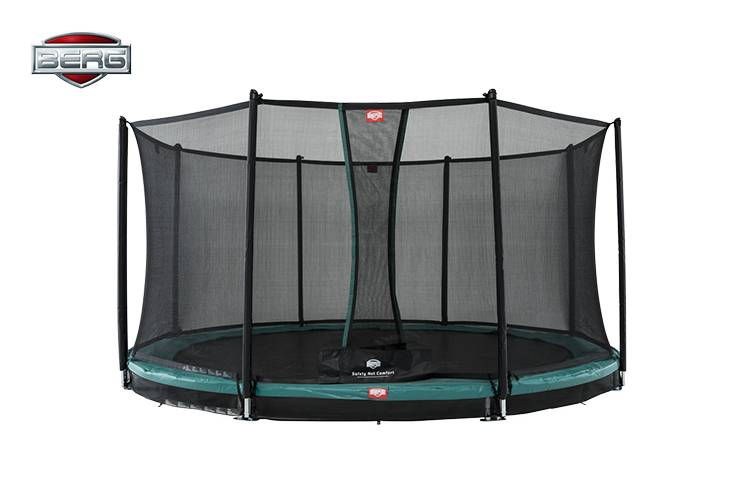 BERG Toys  BERG InGround Favorit 430 groen + Safetynet