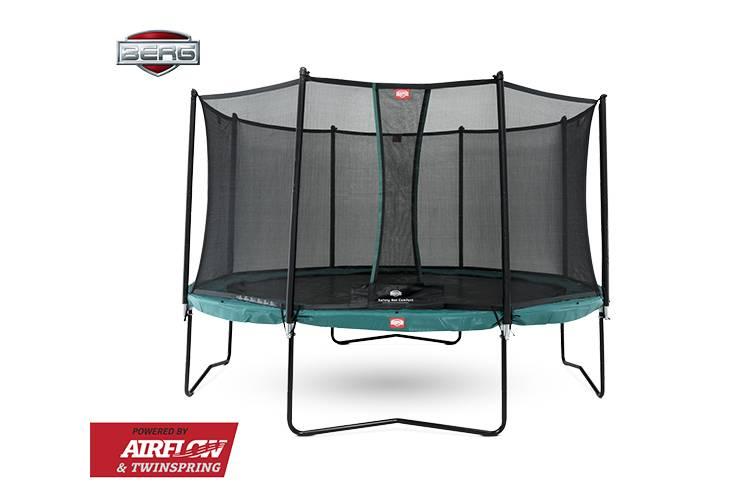 BERG Toys  BERG Champion 330 groen + Safetynet Comfort