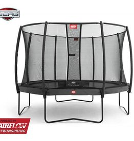 BERG Toys  BERG Champion 380 grijs + Safetynet Deluxe