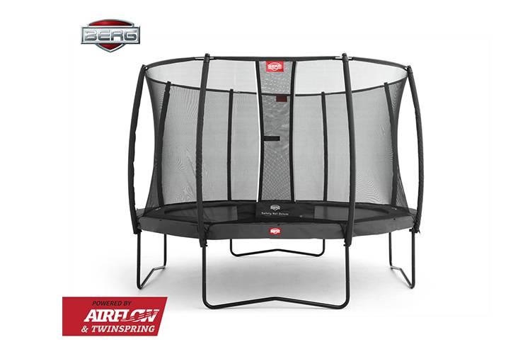 BERG Toys  BERG Champion 430 grijs + Safetynet Deluxe