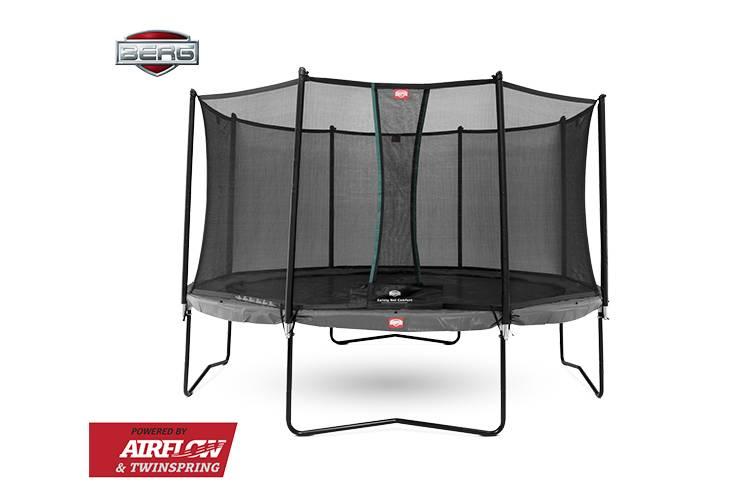 BERG Toys  BERG Champion 430 grijs + Safetynet Comfort