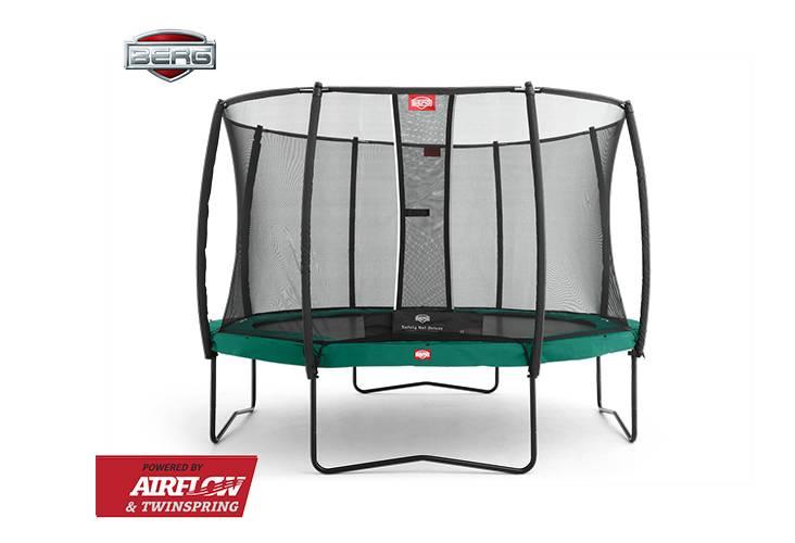 BERG Toys  BERG Champion 430 groen + Safetynet Deluxe