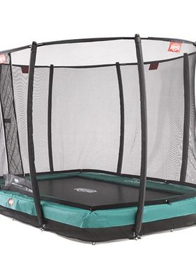 BERG Toys  BERG InGround EazyFit groen + Safetynet Deluxe