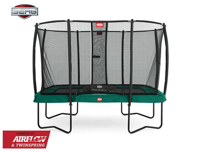 BERG Toys  BERG Ultim groen + Safetynet Deluxe