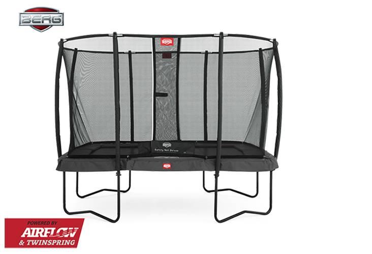 BERG Toys  BERG Ultim grijs + Safetynet Deluxe