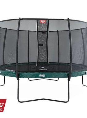 BERG Toys  BERG Elite 380 groen + Safetynet Deluxe