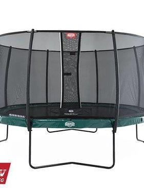 BERG Toys  BERG Elite 430 groen + Safetynet Deluxe