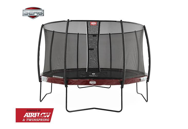 BERG Toys  BERG Elite 380 rood + Safetynet Deluxe