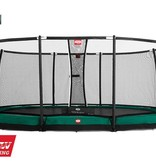 BERG Toys  BERG InGround Grand Champion groen + Safetynet Deluxe