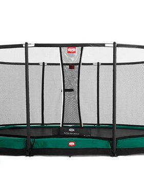 BERG Toys  BERG InGround Grand Champion groen + Safetynet Deluxe