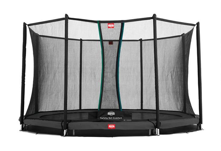 BERG Toys  BERG InGround Favorit 380 grijs + Safetynet