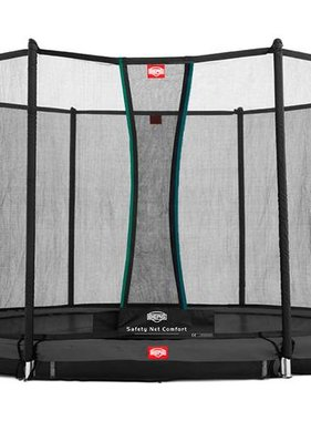 BERG Toys  BERG InGround Favorit 430 grijs + Safetynet