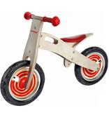 Simply Simply houten loopfiets rood