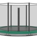 Akrobat Akrobat Orbit InGround 244 Groen incl. veiligheidsnet