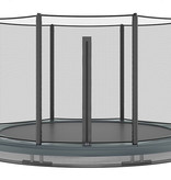 Akrobat Akrobat Orbit InGround 305 Antraciet incl. veiligheidsnet