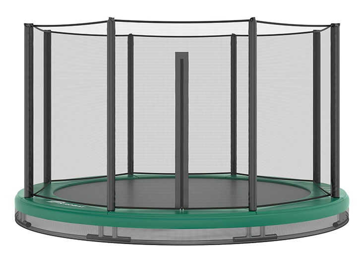 Akrobat Akrobat Orbit InGround 305 Groen incl. veiligheidsnet