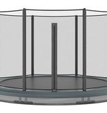 Akrobat Akrobat Orbit InGround 365 Antraciet incl. veiligheidsnet
